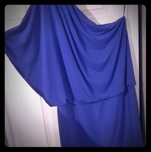 Gorgeous flirty blue Jessica Simpson dress